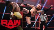【RAW1400期】布莱克静坐整懵对手 突然爆发一击制胜