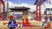 拳皇97:翻盘女王玛丽到底又多强?大门完全顶不住