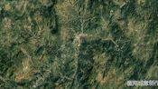 地图里看城市化,福建省大田县城市建设进程