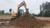 农村办白事租用的挖掘机,一次需要多少费用?听听农村大哥咋说