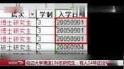 延边大学清退136名研究生,博士14名硕士122名,最长14年未毕业
