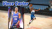 【NBA2K20】实战360°隔人灌篮 银河半人半神Vince Carter!   球员评测 「Justin_NBA2KTV」 游戏网络游戏