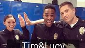 【the rookie】West:俺们全剧组都站Tucy!Tim最帅!Lucy:Tim像哥哥,Tim&Lucy在一起我他们会ruin sth