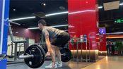 硬拉100kg 5x5 2020-01-17