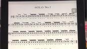 美国军鼓150条solo No.1(示范)