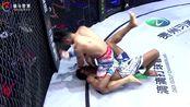 """再现""""飓风式""""对局,闫西波1分25秒KO菲律宾拳手奥德。"""