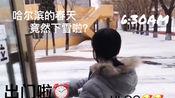 Lunar的日常VLOG 2019.3.13哈尔滨竟然下雪啦!
