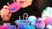 【Yummy】>是多芬啊(假的<全是可以食用的肥皂&气泡浴球&泡泡喔(●●)