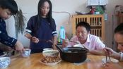 江西省上饶市上饶县旭日街道特产美食大胃王吃播吃饭视频