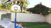 史拉姆 德恩克!迷你NBA决赛!篮球挑战克里斯,扎克和大卫