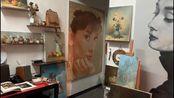 一歌一画:油画作品《莫妮卡贝鲁奇》创作视频