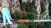 """啊哈,芜湖马仁奇峰""""飞龙在天""""高空玻璃桥,走起来!"""