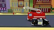 汽车城之警车和消防车 第19集 拖车汤姆消失了