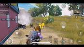 视频 和平精英吃鸡视频:G港刚枪一路干,枪火不停合作夺第一!