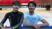 【FaOI】2018.5.23 Message from Stephane and Deniss before Fantasy on Ice 2018
