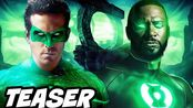 【Emergency Awesom】【中字】《绿灯侠》2021年-美国HBO《绿灯侠》节目分解和复活节彩蛋