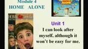 外研社_初三_英语(外研社)_九年级英语上册module 4《home alone》unit 1 i can lo新ok after myself, although it won't be easy for me.
