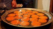 陕西最火百年小吃店,6种口味任选,生意火爆,6个大锅忙不过来