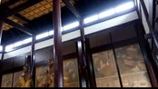 河南南阳邓州花洲书院:大成殿内部实景~孔子儒家文化