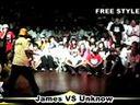 www.hiphopjw.comM.P.5 街舞大赛 FREESTYLE best16 James VS Unknow