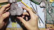 【自制粘土手办DIY】尝试做了一个雷姆 From 从零开始的异世界生活 Part3【azuMAN公式授权发布】