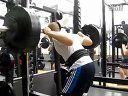 Longfei深蹲345磅(156.5kg)