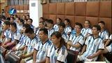 [福建卫视新闻]福建省校园足球教练员高级研修班在福州开班