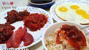 【Hamzy】korean爽快吃播 韩国市场美食 海产品 父母家吃放(19.10.1)