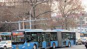 POV.28:济南公交BRT3号线下行(全福立交桥西-黄岗路)前方展望POV