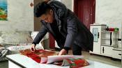 山东省菏泽市,过年贴对联,吃饺子