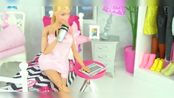 女生购物过家家玩具-_周末在家呆腻了-_一起出门买一些生活物品吧