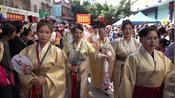 南宁市良庆区2019年大塘镇鸭文化节服装秀(1)摄制:黎老师