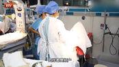 产妇分娩十分痛苦,8名医生合力为其接生,降生婴儿吓坏医护人员