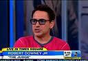 Robert Downey Jr. on Good Morning America Oct 8th, 2014