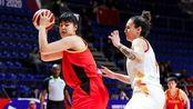 女版奥尼尔!女篮奥预赛,李月汝面对西班牙狂砍13分,称霸油漆区