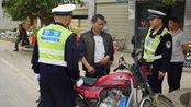 有了C类驾照,能开摩托车吗?多亏交警同志提醒,别不当回事
