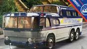 火柴盒 9r 55年gmc六轮巴士