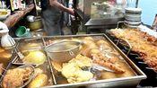 [日本街头美食]大阪市场里种类超多的关东煮和涂满酱的肉串!