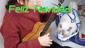 【日常练琴】-7 Feliz Navidad(圣诞快乐) cover José Feliciano