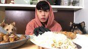 【chiyoon】最后拌面饺子吃播-间歇性的绝食第二次(2019年10月30日2时16分)