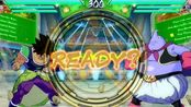 Narvalo(DBS Broly_Jiren_SSGSS Gogeta) Fights XGhostNappa(Majin Buu_Ginyu_Gotenks