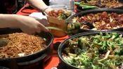 伦敦街头的中式快餐 大中华的美食还是很容易让吃货们接受的