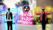 [Vicco] DaVinci达芬奇仿Ins的霓虹炫酷特效 | 片尾福利不要错过