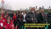 张纪中彰显侠义担当,龙武极群侠校园传承武术文化带领学生跑步