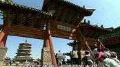 老影像:山西省应县,木塔珍奇盛产大蒜,动听的乡野小戏(1998)