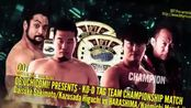 【7.87分】关本大介 & 樋口和贞 vs. 丸藤正道 & HARASHIMA DDT 2018.3.25
