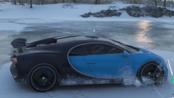 地平线4:布加迪Chiron在冰面上0-100加速要几秒?