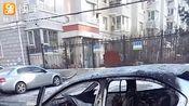 吉林省长春市一出租车发生自燃