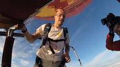 男子无保护从7620米高空跳下,准确安全着陆,让人震惊