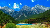 云南省一个比九寨沟还美的地方,名为蓝月谷,简直是人间仙境